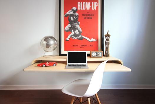 bureau sans pied