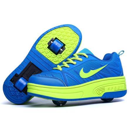 chaussures à roulettes