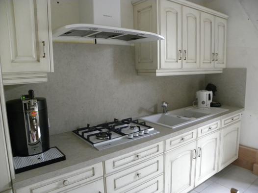 cuisine blanc cassé