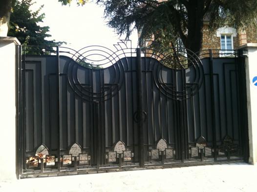 decoration portail exterieur