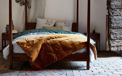 dessus de lit alinea