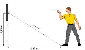 distance flechette