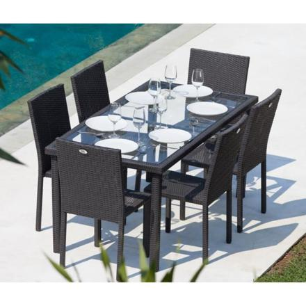 ensemble table de jardin
