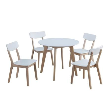 ensemble table ronde et chaise