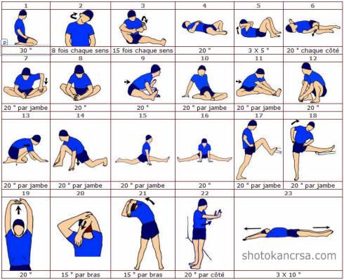 exercice souplesse