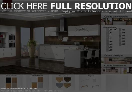 faire sa cuisine en 3d