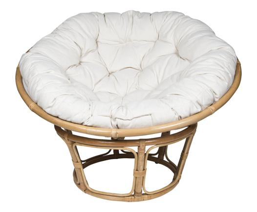 fauteuil rotin rond