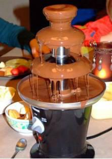 fontaine chocolat recette