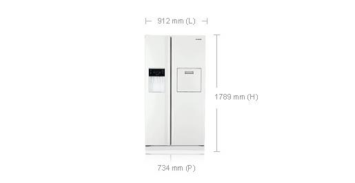 frigo americain dimension