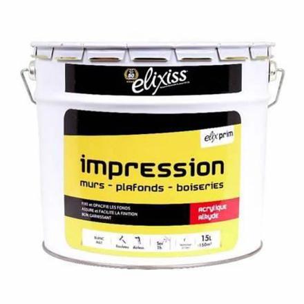 impression peinture
