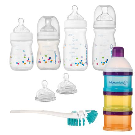 kit naissance biberon