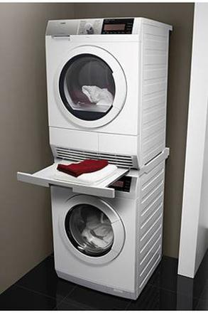 kit superposition lave linge seche linge
