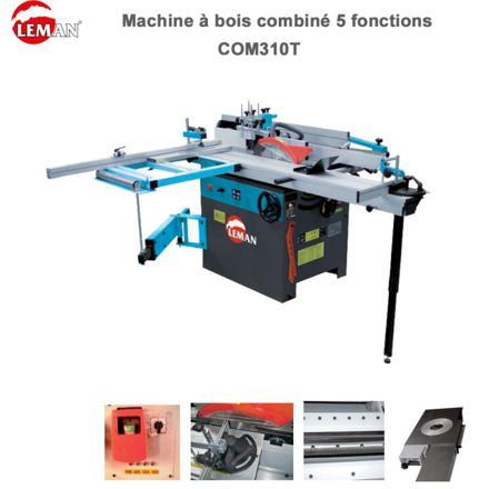 machine à bois combiné