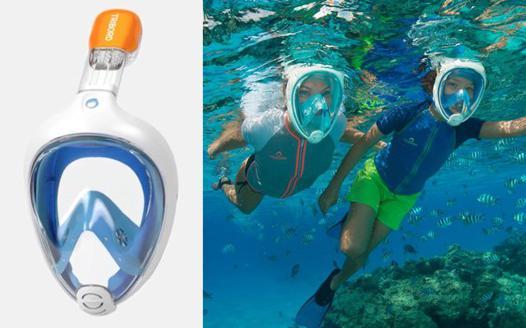 masque sous l eau
