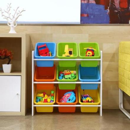 meuble pour ranger les jouets