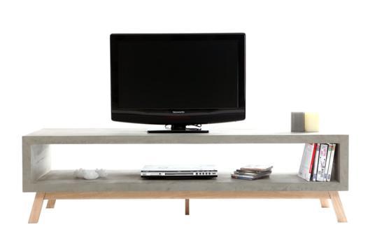 meuble tv etroit