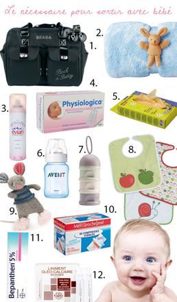 nécessaire pour bébé
