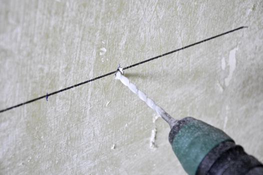 percer un mur en béton