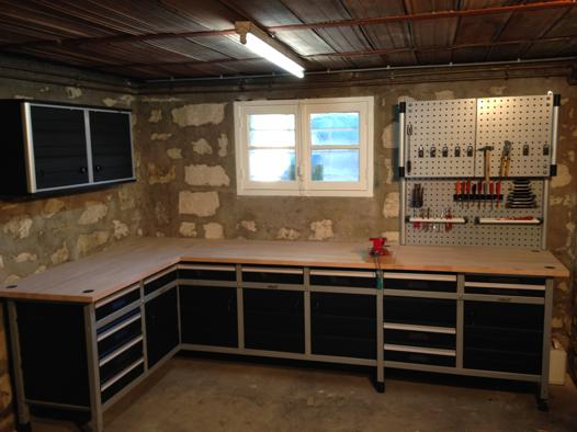rangement atelier