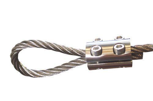 serre cable inox