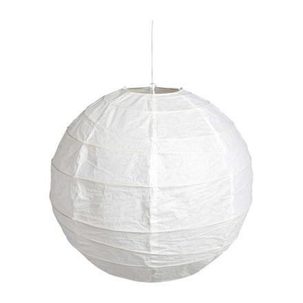 suspension boule papier