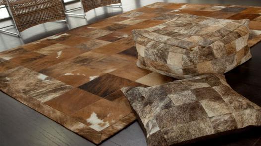 tapis peau