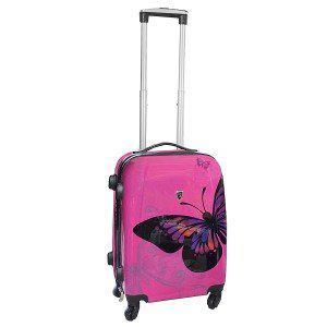 valise cabine rose
