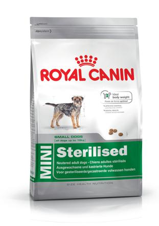 alimentation pour chien stérilisé
