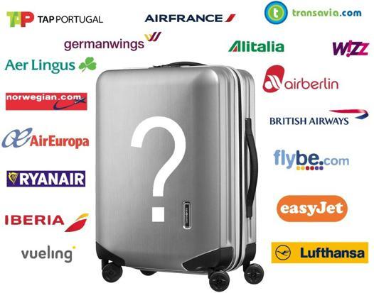 bagage 55 x 35 x 25 cm