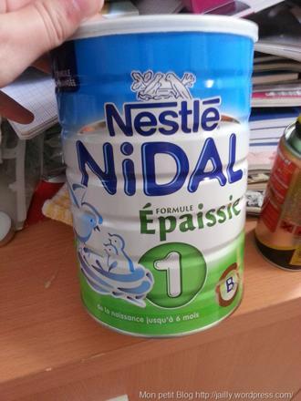 boite de lait bébé