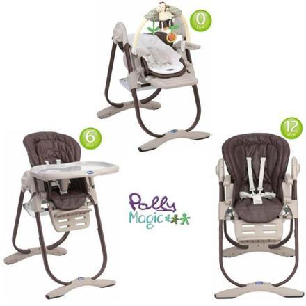 chaise haute 3 en 1