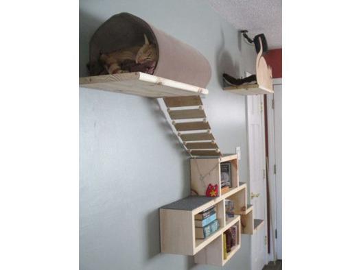 etagere pour chat