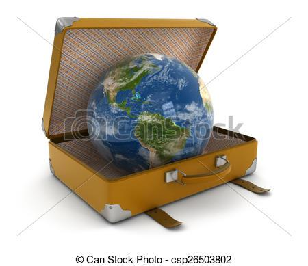 globe valise
