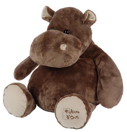 hippopotame peluche