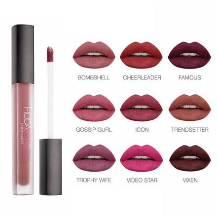 huda beauty rouge à lèvre mat