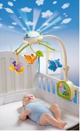 mobile bébé lumineux