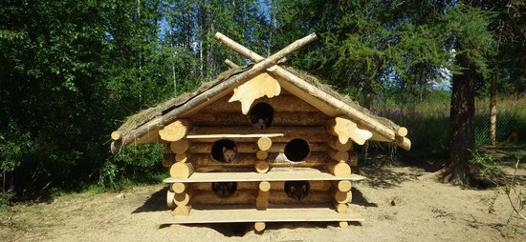 niche en bois