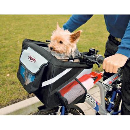 panier de transport pour chien velo