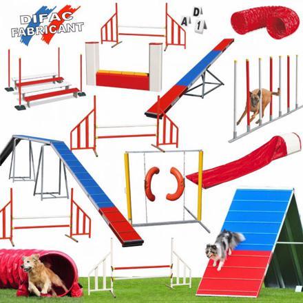 parcours agility chien