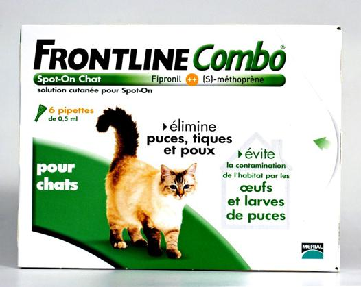 produit anti tique chat