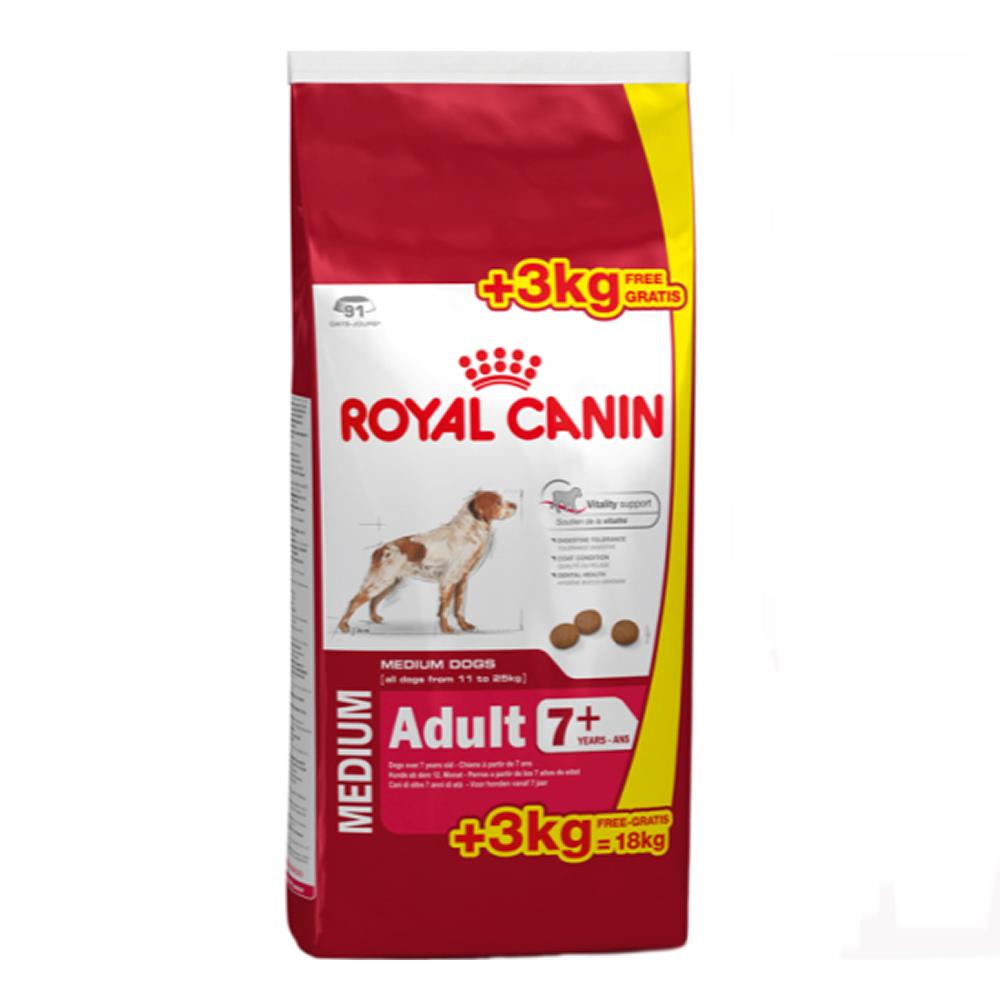 royal canin medium adulte 15kg 3kg