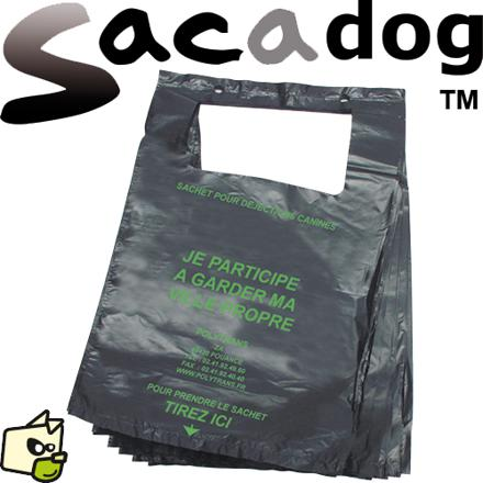 sac a crotte chien