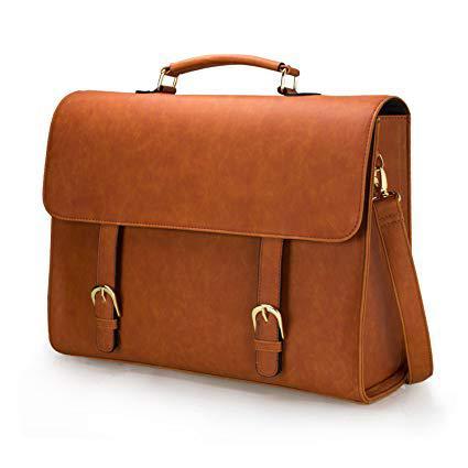 sac cartable femme cuir
