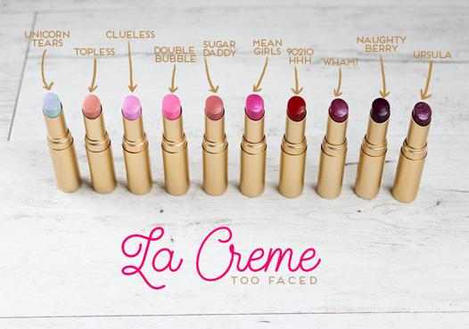 too faced rouge a levre
