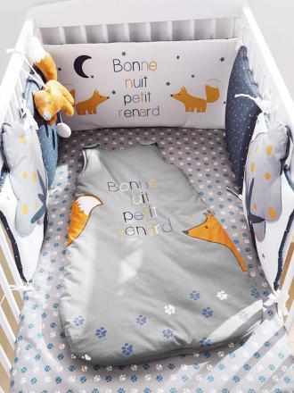 tour de lit renard