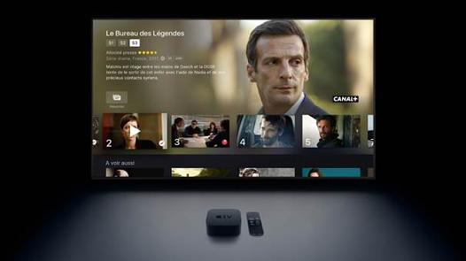 apple tv mycanal