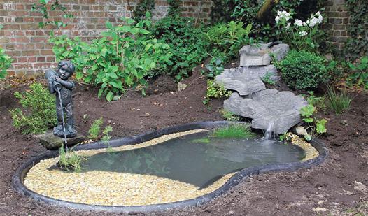 bassin de jardin préformé