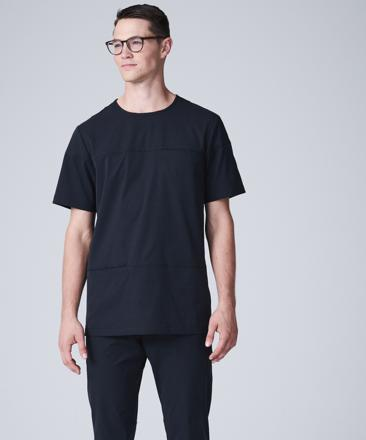 black scrubs