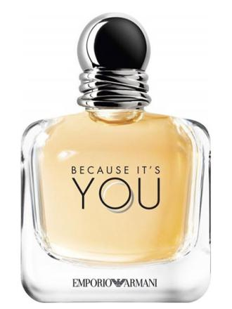 giorgio armani emporio because it's you