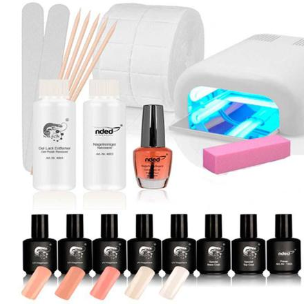 kit ongle semi permanent